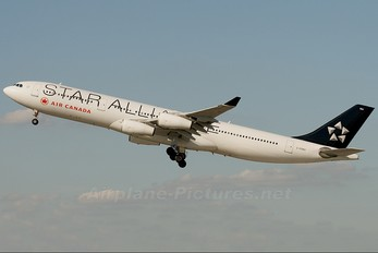 C-FDRO - Air Canada Airbus A340-300
