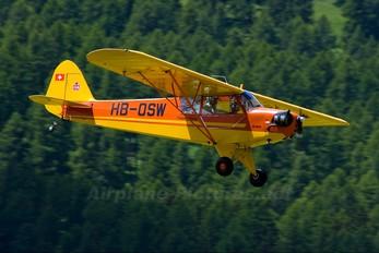 HB-OSW - Private Piper J3 Cub