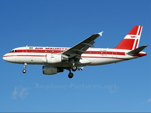 3B-NBF - Air Mauritius Airbus A319