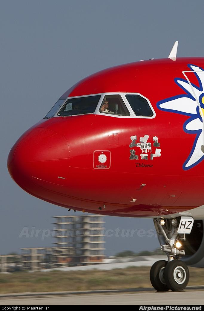 Edelweiss HB-IHZ aircraft at Antalya