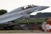 ZJ813 - Royal Air Force Eurofighter Typhoon T.1 aircraft