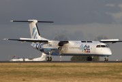 G-FLBC - Flybe de Havilland Canada DHC-8-400Q Dash 8 aircraft