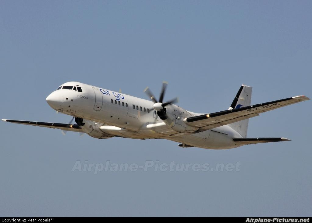 Air Go SX-BPS aircraft at Rhodes - Diagoras