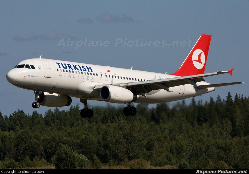 Turkish Airlines TC-JPI aircraft at Stockholm - Arlanda