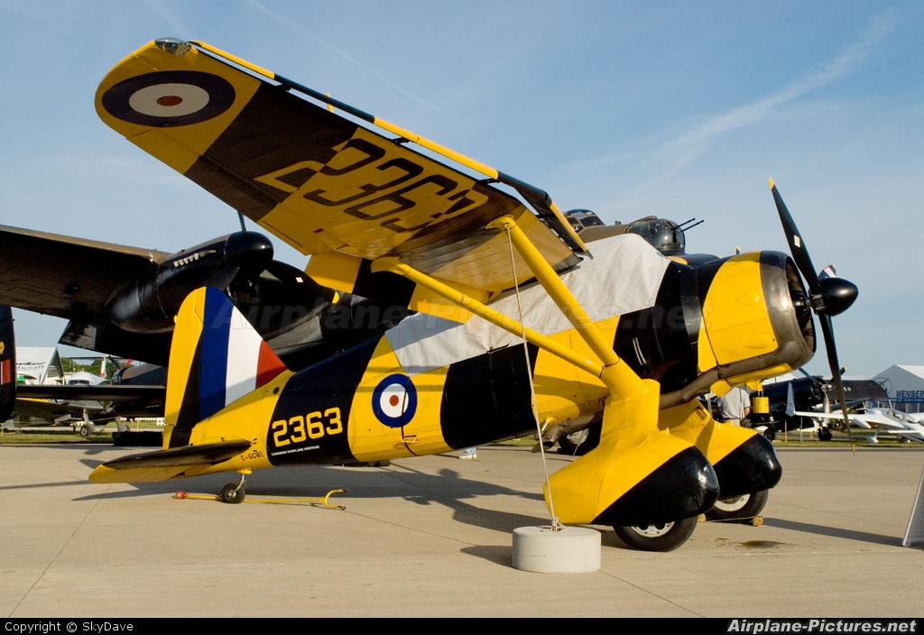 Canadian Warplane Heritage C-GCWL aircraft at Oshkosh - Wittman Regional