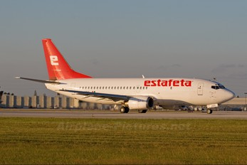 XA-UDQ - Estafeta Carga Aerea Boeing 737-300F