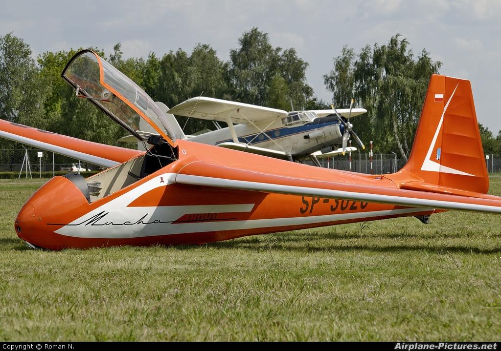 Aeroklub Bydgoski SP-3628 aircraft at Bydgoszcz - Szwederowo