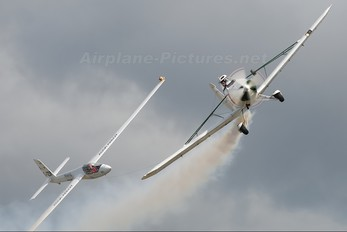 G-BDPJ - Swift Aerobatic Display Team Piper PA-25 Pawnee