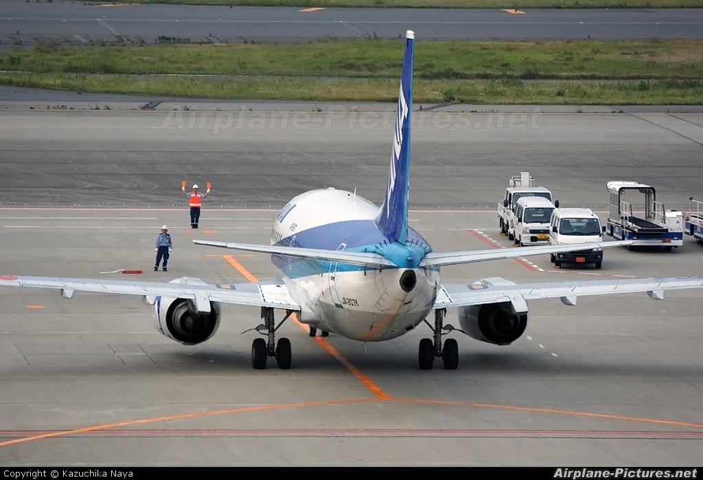 ANA - Air Next JA307K aircraft at Tokyo - Haneda Intl