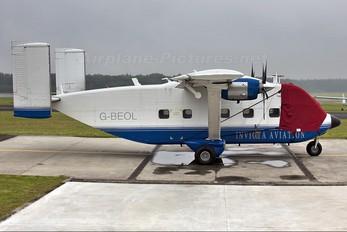 G-BEOL - Invicta Aviation Short SC.7 Skyvan