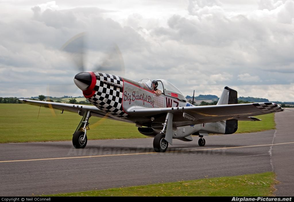 Private G-HAEC aircraft at Duxford