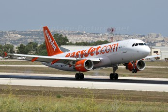 G-EZTE - easyJet Airbus A320