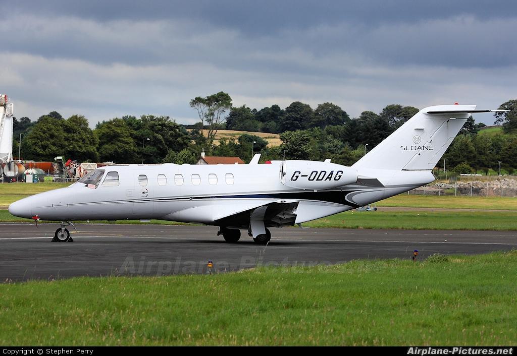 Air Charter Scotland G-ODAG aircraft at Edinburgh