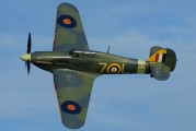 G-BKTH - The Shuttleworth Collection Hawker Sea Hurricane IB aircraft