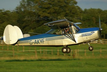 G-AKVF - Private Chrislea Aircraft Co CH3 Super Ace