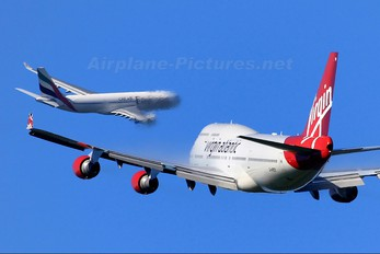G-VROY - Virgin Atlantic Boeing 747-400