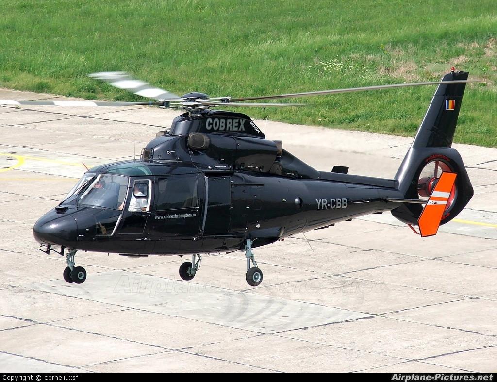 Cobrex Helicopters YR-CBB aircraft at Bacau
