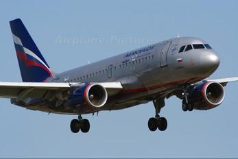 VP-BWJ - Aeroflot Airbus A319