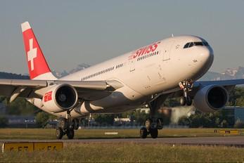 HB-IQA - Swiss Airbus A330-200