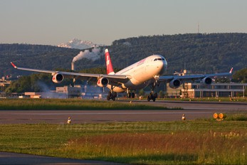 HB-JMO - Swiss Airbus A340-300
