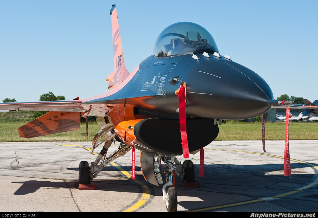Netherlands - Air Force J-015 aircraft at Piestany