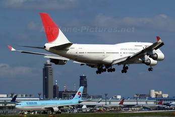 JA8914 - JAL - Japan Airlines Boeing 747-400