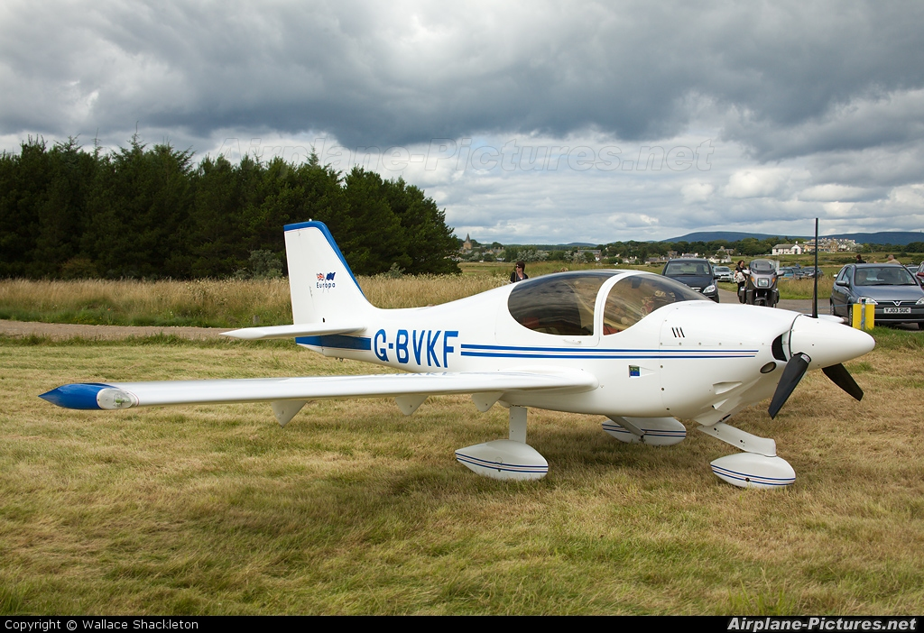 GBVKF  Private Europa Aircraft Europa At Dornoch  Photo ID 58325  Airplan