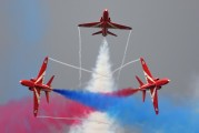 "XX227 - Royal Air Force ""Red Arrows"" British Aerospace Hawk T.1/ 1A aircraft"