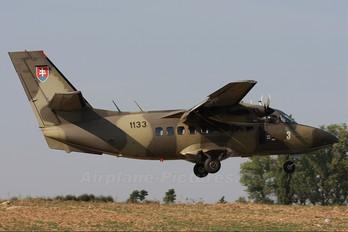 1133 - Slovakia -  Air Force LET L-410UVP Turbolet