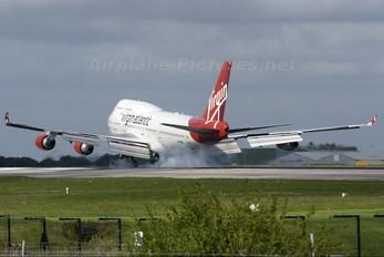 G-VROM - Virgin Atlantic Boeing 747-400