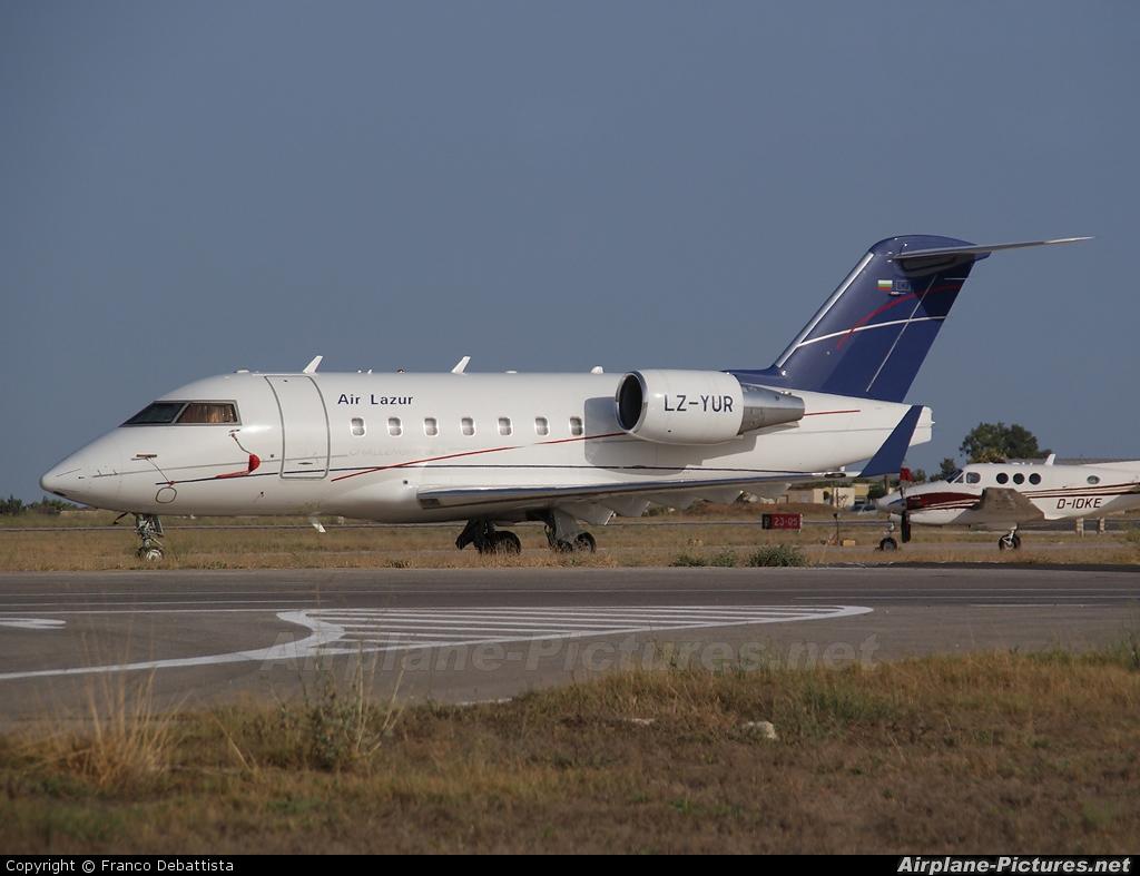 Air Lazur LZ-YUR aircraft at Malta Intl