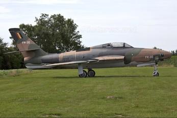 FR-30 - Belgium - Air Force Republic RF-84F Thunderflash