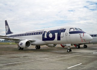 SP-LIG - LOT - Polish Airlines Embraer ERJ-175 (170-200)