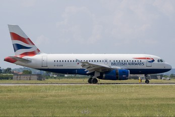 G-EUOB - British Airways Airbus A319