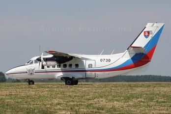 0730 - Slovakia -  Air Force LET L-410UVP Turbolet