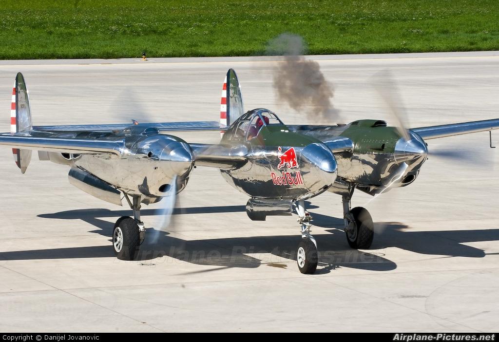 The Flying Bulls N25Y aircraft at Innsbruck