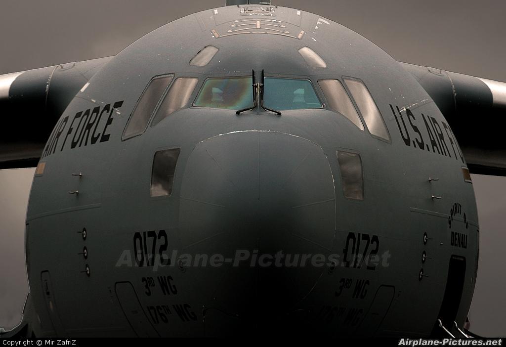 USA - Air Force 00-0172 aircraft at Perth, WA