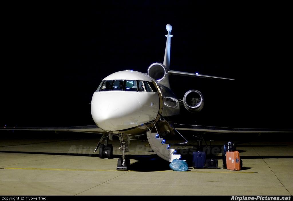 Global Jet Austria OE-IDX aircraft at London - Luton