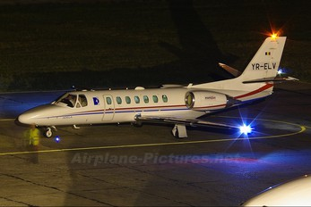 YR-ELV - Eurojet Romania Cessna 560 Citation Encore