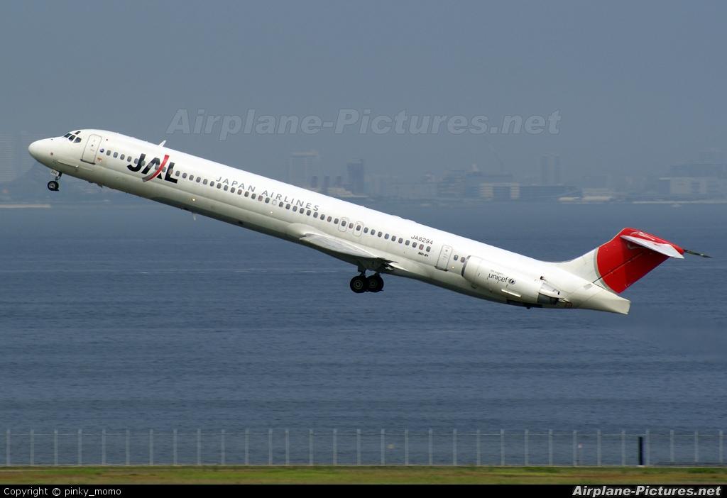 JAL - Japan Airlines JA8294 aircraft at Tokyo - Haneda Intl