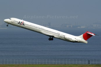 JA8294 - JAL - Japan Airlines McDonnell Douglas MD-81