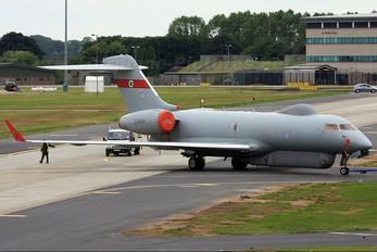 ZJ690 - Royal Air Force Bombardier Sentinel R.1