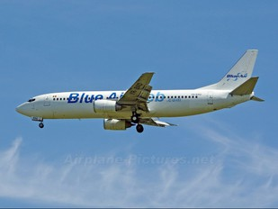 YR-BAD - Blue Air Boeing 737-400