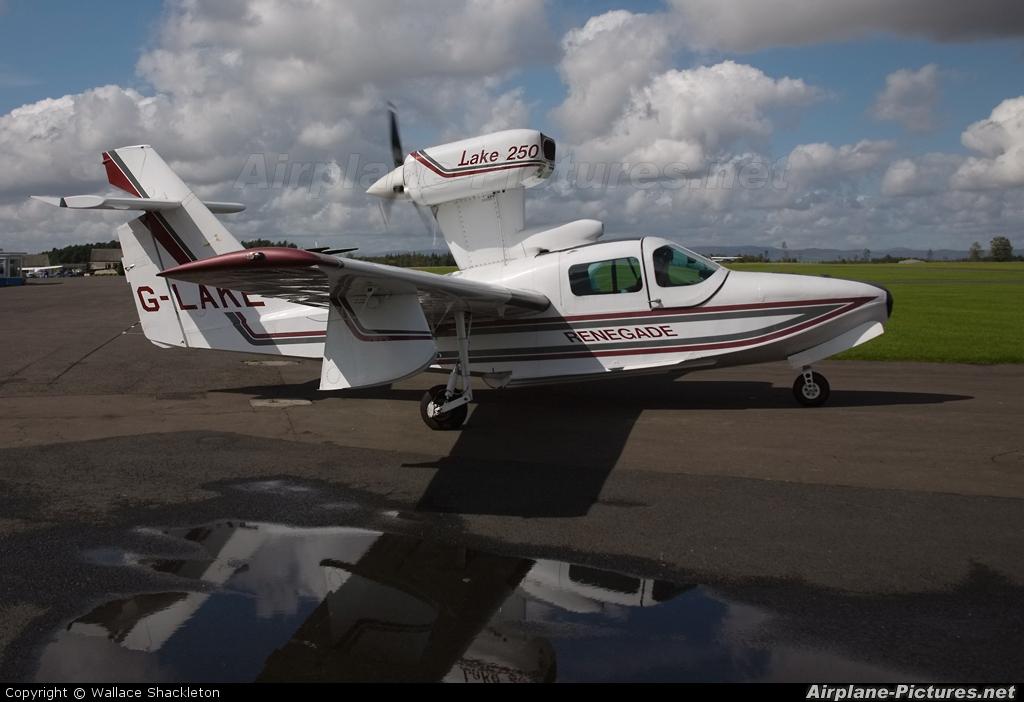 Private G-LAKE aircraft at Perth - Scone
