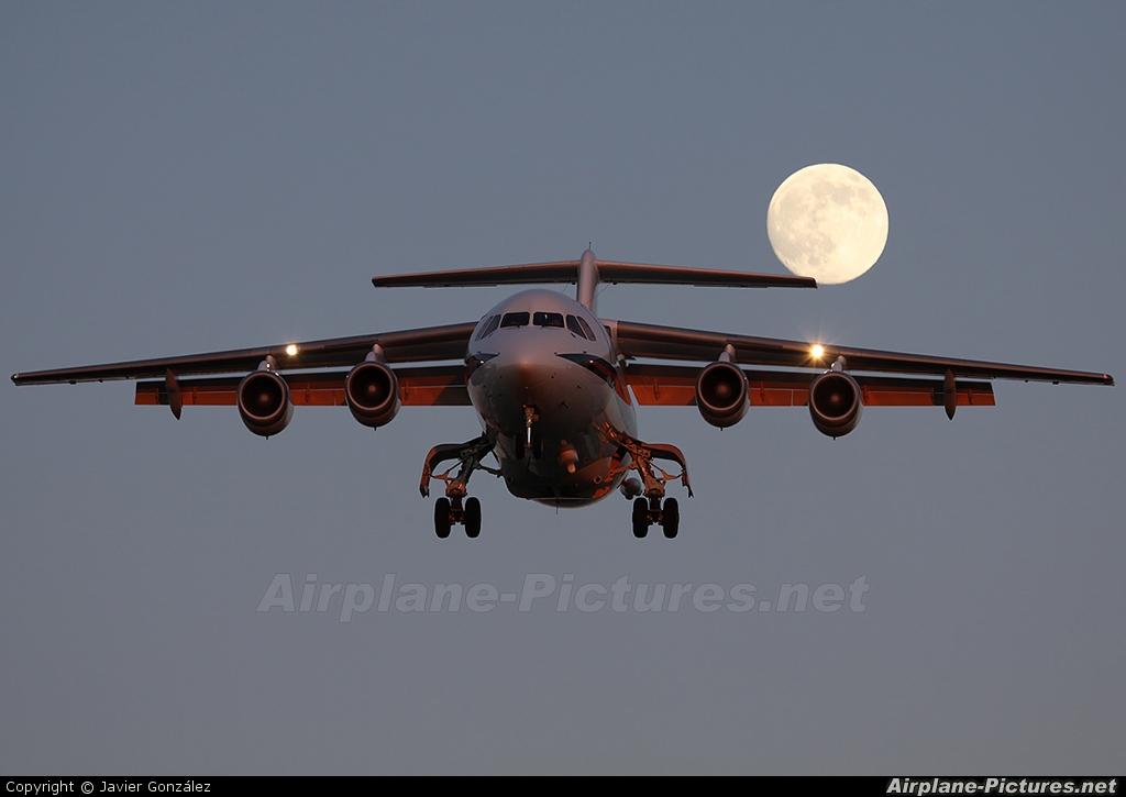Royal Air Force ZE701 aircraft at Barcelona - El Prat