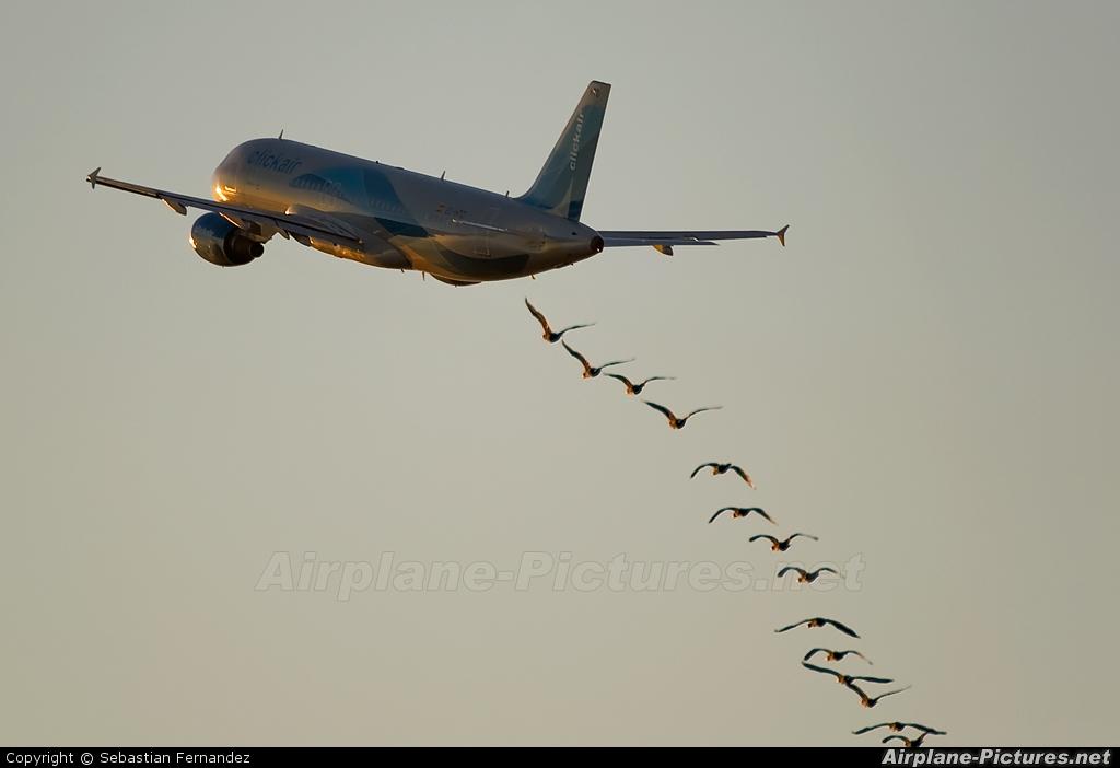 Clickair EC-HTD aircraft at Barcelona - El Prat