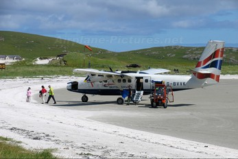 G-BVVK - British Airways - Loganair de Havilland Canada DHC-6 Twin Otter