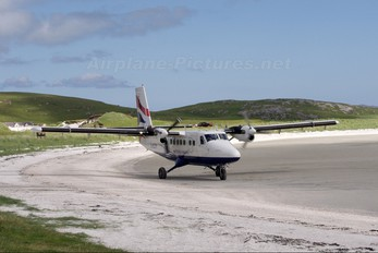 G-BZFP - British Airways - Loganair de Havilland Canada DHC-6 Twin Otter