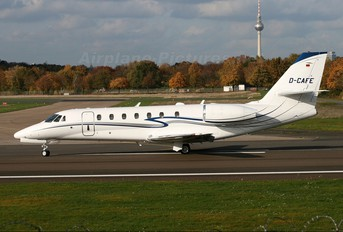 D-CAFE - Private Cessna 680 Sovereign