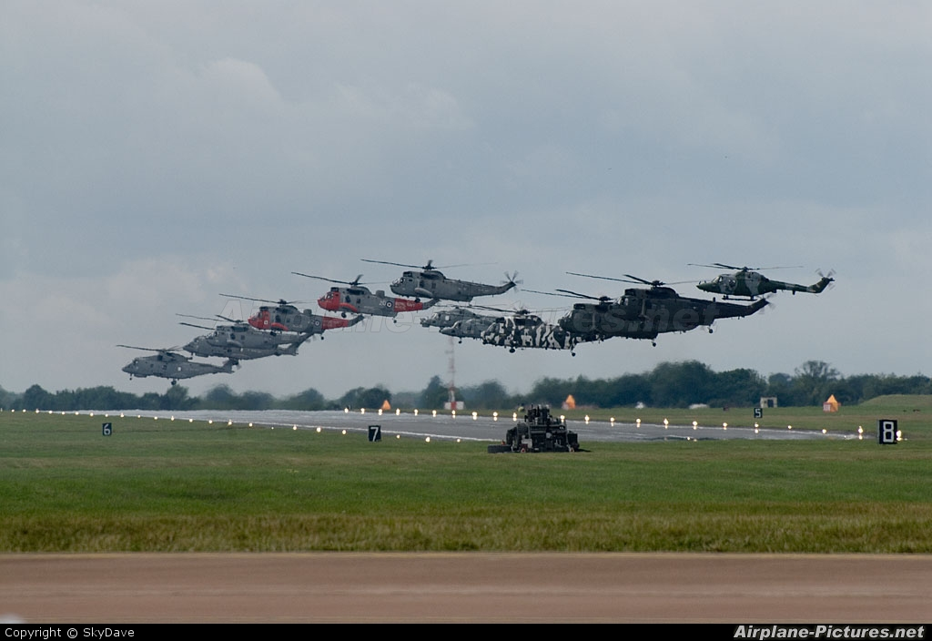 Royal Navy - aircraft at Fairford